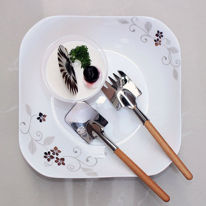 Shovel Spoon and Fork Set - Feedfend - fistcase