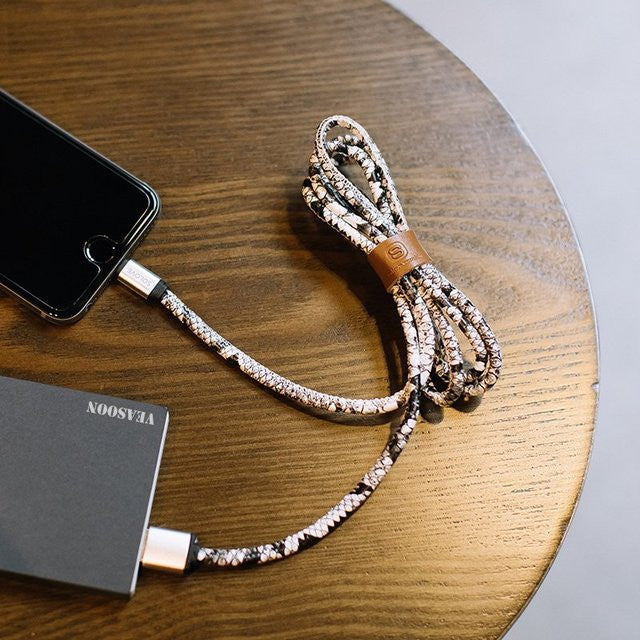 Python Skin Lightning Cable - Feedfend