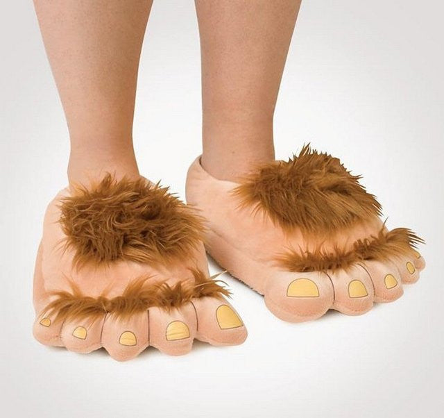 Furry Adventure Slippers - Feedfend
