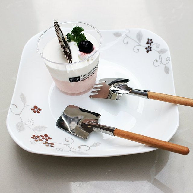 Shovel Spoon and Fork Set - Feedfend