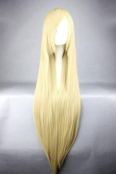 Silk Blonde Cosplay Anime Wig - Feedfend - fistcase