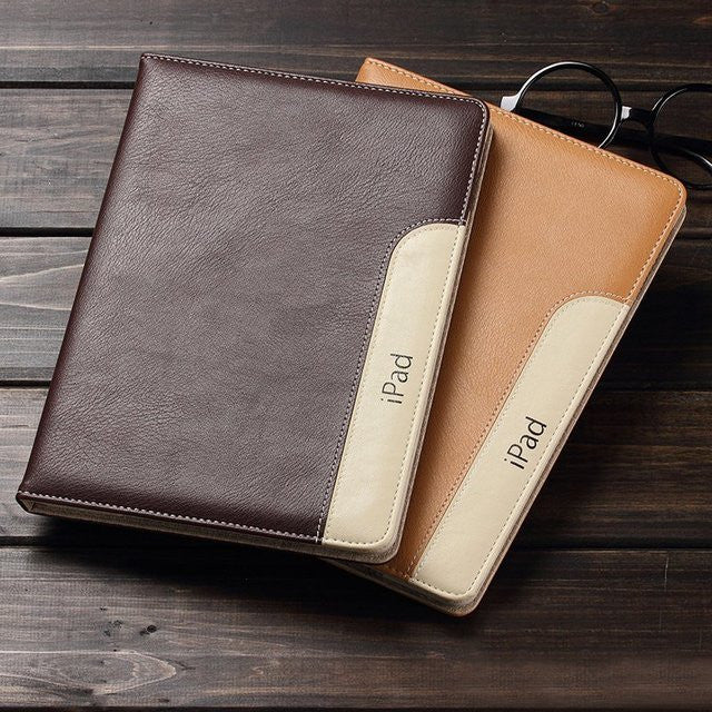 Designer Leather iPad Case