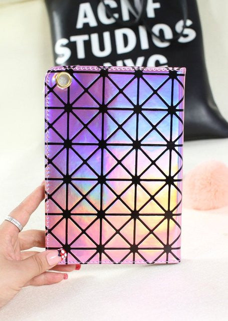 Laser Diamond Lattice iPad Case