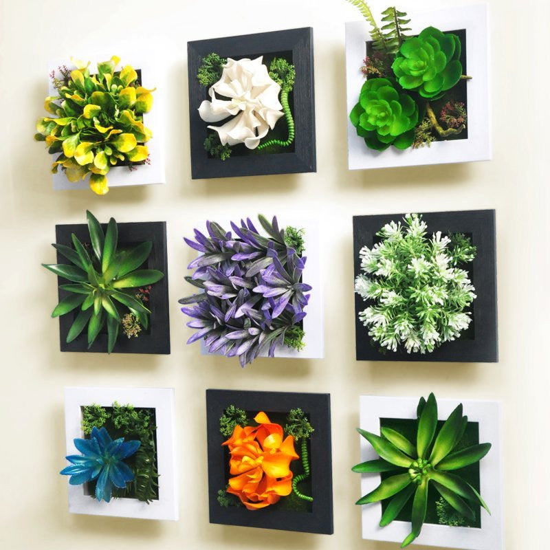 3D Artificial Garden Wall Squares - Feedfend - fistcase