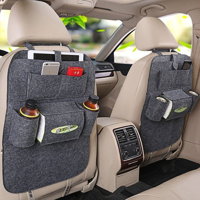 Car Back Seat Organizer - Feedfend
