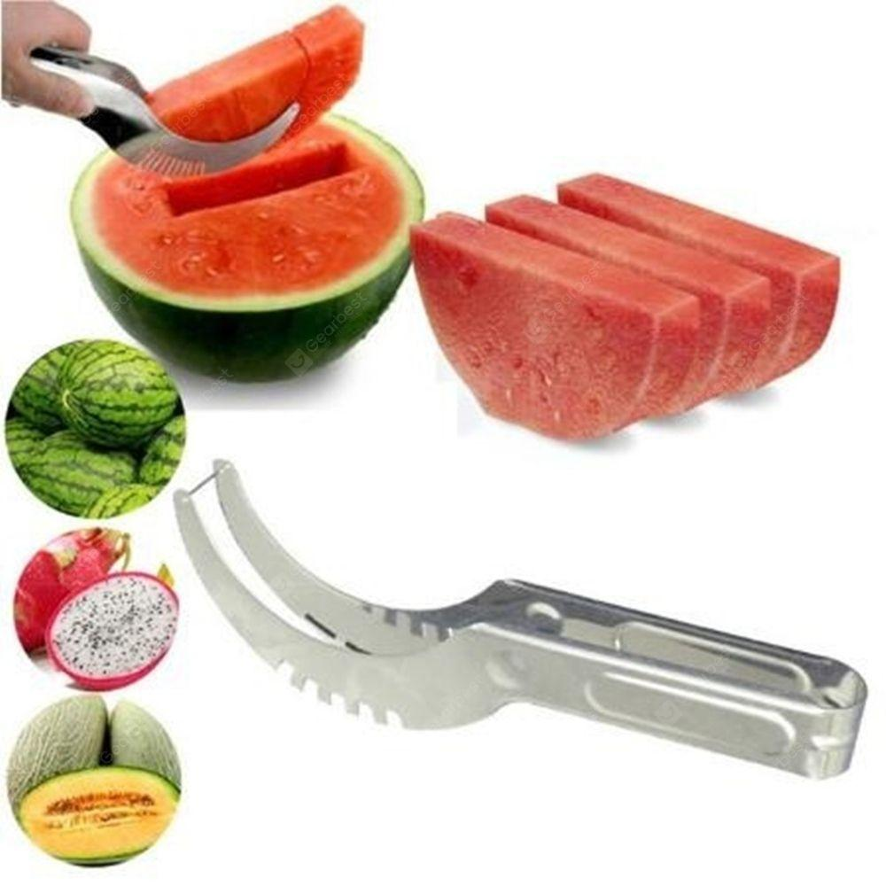 Watermelon Cutter Knife Cucumis Melon Cutter Chopper Fruit Salad Cucumber Vegetable Fruit Slicers Kitchen Cooking Tools - Feedfend