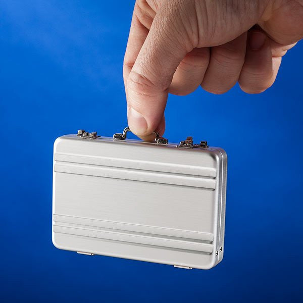 Mini Briefcase Card Carrier - Feedfend