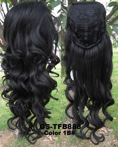 34 half wigs hair extensionsbody wave wigs synthetic hair 34 half wigs hair extensionsbody wave wigs synthetic hair extensions heat resistanthigh resistance synthetic fibre 24200g full long curl european pmusecretfo Images
