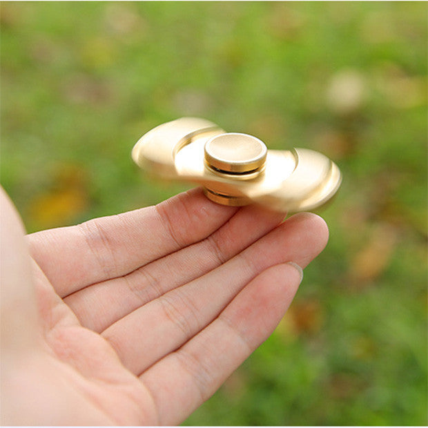Fidget Fiddle Spinner Toy Finger