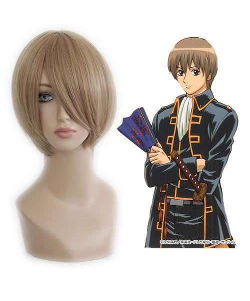 35cm Short  Blonde Anime Wig