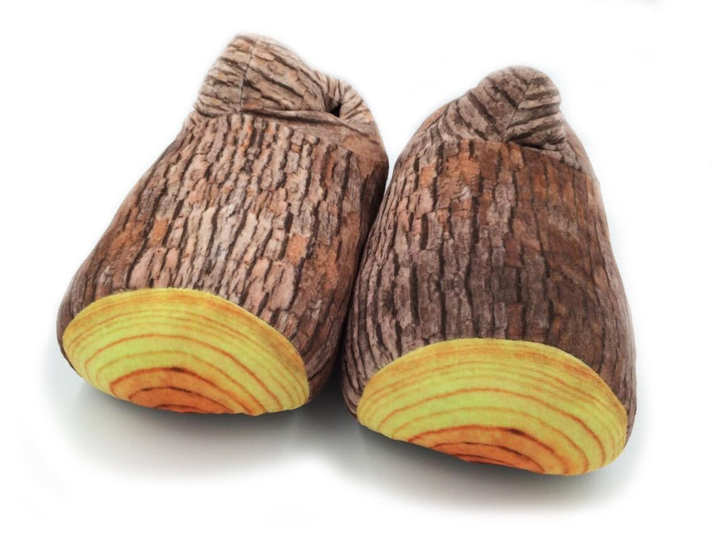 Wood Stump Slippers