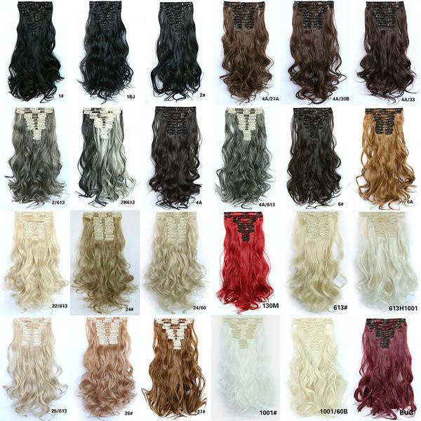 Bath & Beauty Wig Straight hair synthetic hair extension hairpieces,Hair Care,fashion Cosplay ombre 1PC - Feedfend - fistcase
