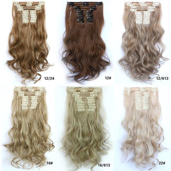 31 Colors Bath & Beauty Wig Straight hair synthetic hair extension hairpieces,Hair Care,fashion Cosplay ombre 1PCS - Feedfend - fistcase