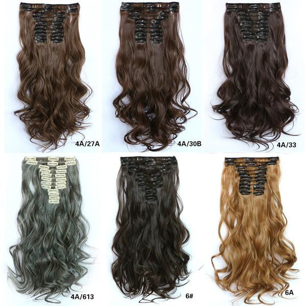 31 Colors Bath & Beauty Wig Straight hair synthetic hair extension hairpieces,Hair Care,fashion Cosplay ombre 1PCS - Feedfend