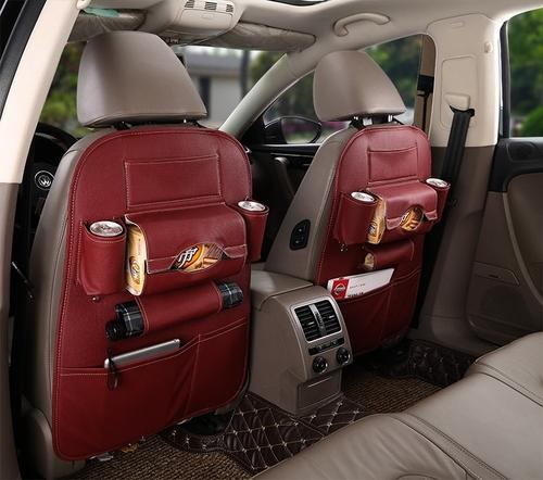 Leather Car Seat Back Organizer - Feedfend - fistcase