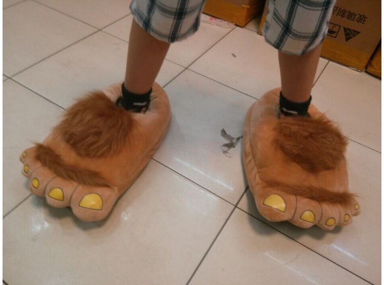 Furry Adventure Slippers - Feedfend - fistcase