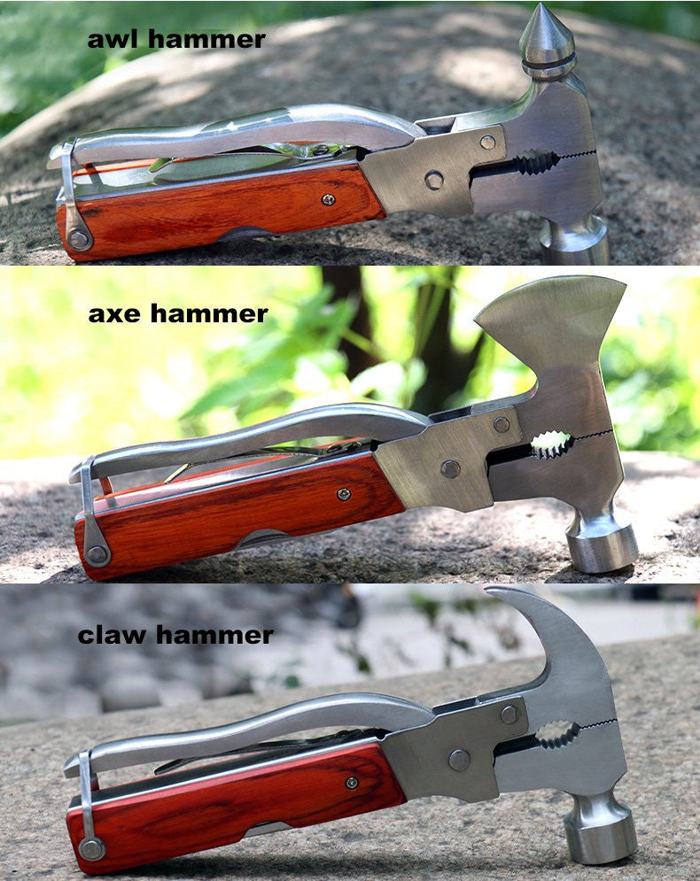 Multi-Function Stainless Steel Hammer - Feedfend