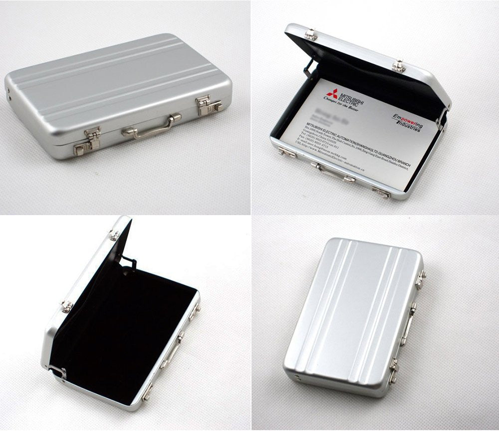 Mini Briefcase Card Carrier - Feedfend - fistcase