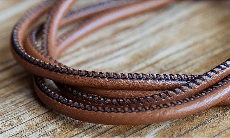 Leather Lightning Cable