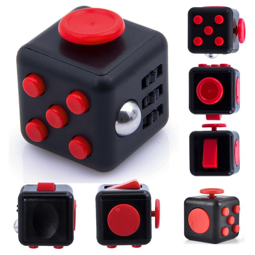 Fidget Cube Spinner Vent Toy - Feedfend