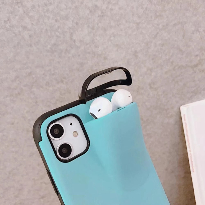 2 in1 AirPods IPhone Case - Feedfend - fistcase