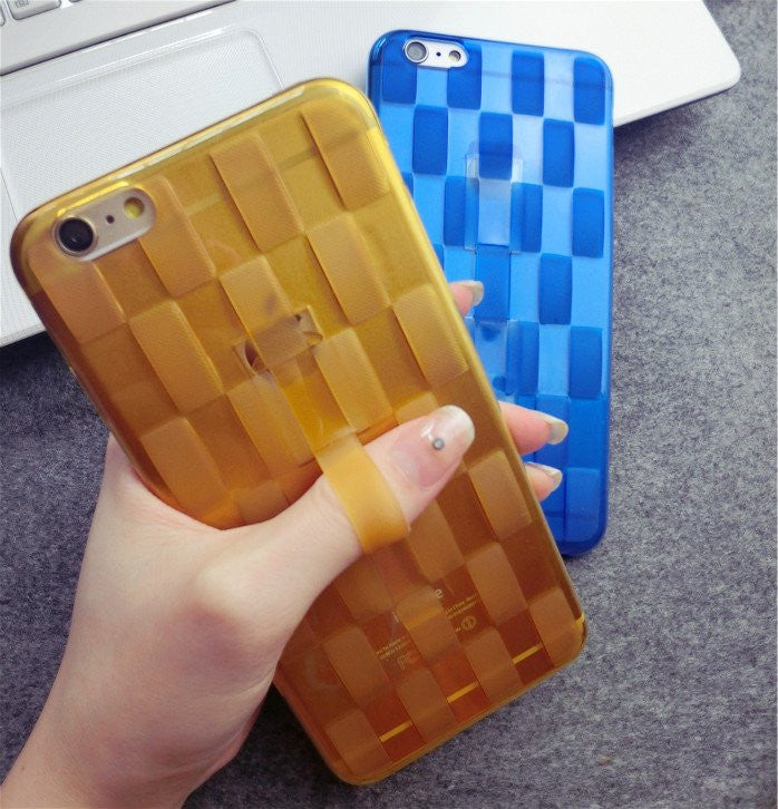 Woven Design Finger Strap iPhone Case