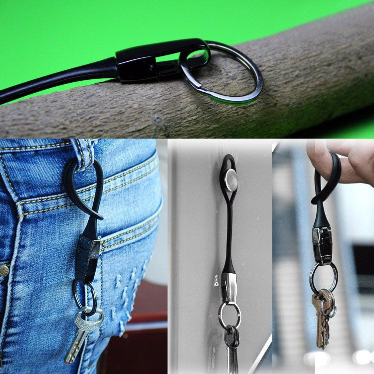 Waist Belt Rubber Keychain - Feedfend - fistcase