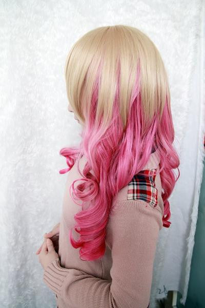 Multi-Color Beautiful Anime Wig