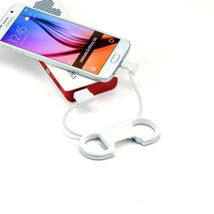 Bottle Opener Lightning  Micro USB Cable - Feedfend - fistcase