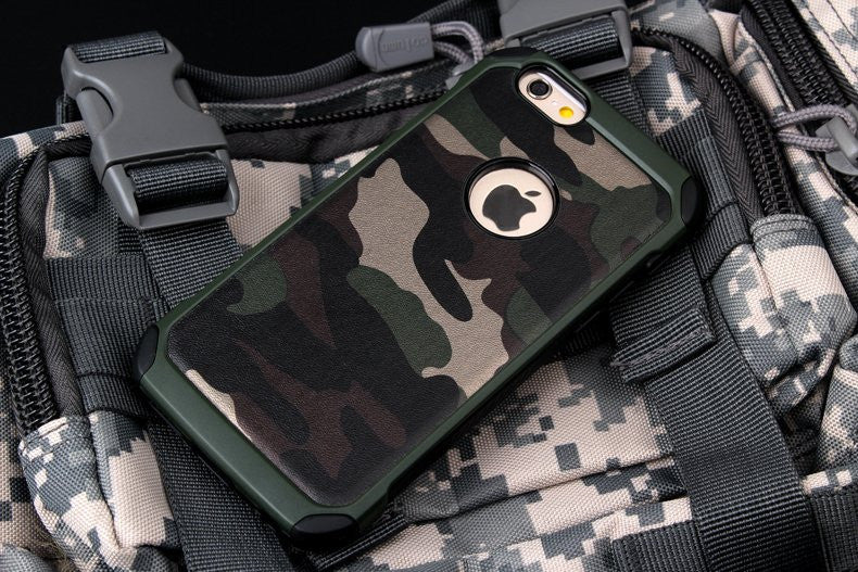 Camouflage Protective iPhone Case