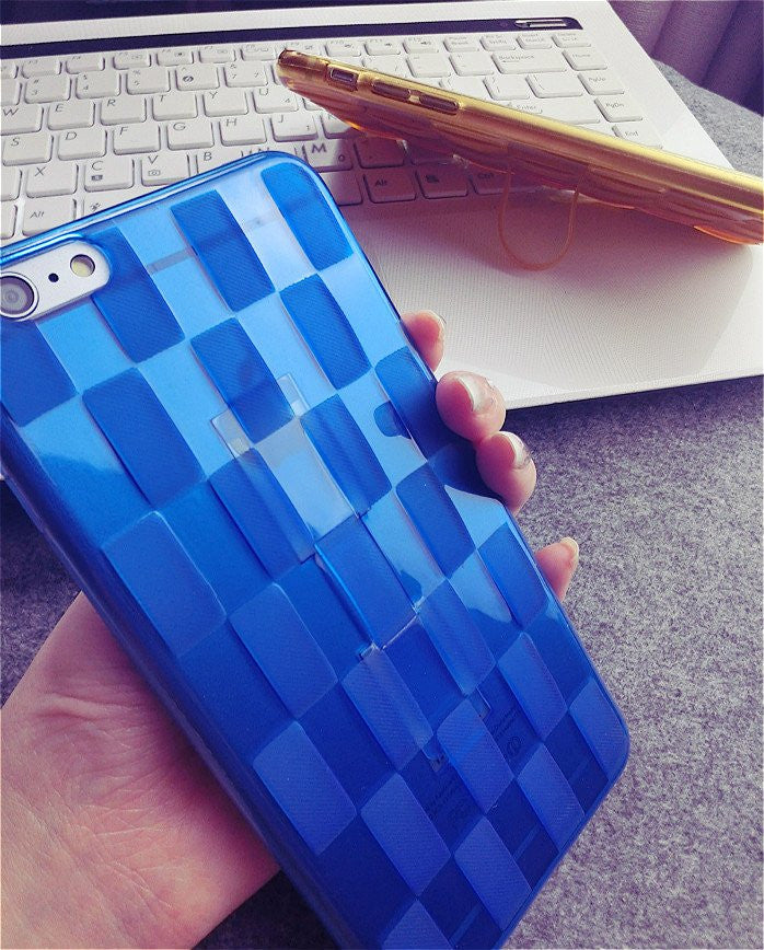 Woven Design Finger Strap iPhone Case - Feedfend - fistcase