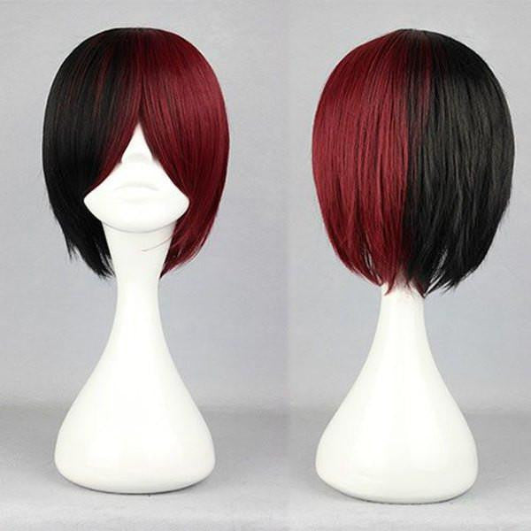 Color Mixed  Anime Cosplay Wig Wig - Feedfend