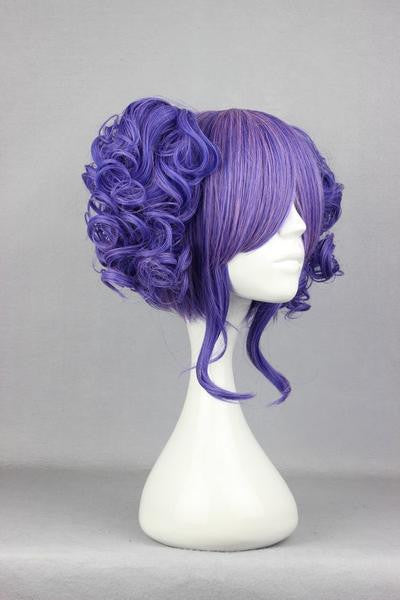 35cm Long Blue Beautiful wig - Feedfend