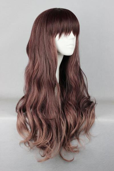 75cm Multi-Color Beautiful Colorful Candy Wig - Feedfend - fistcase