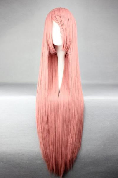 Straight Smoke Pink Popular Cosplay Wig