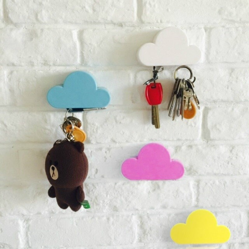 Cloud Shape Magnet Key Hooks - Feedfend