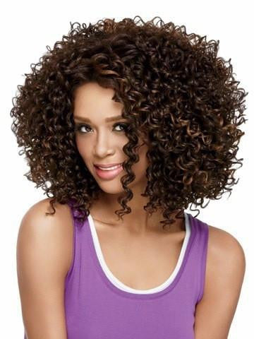 Black Curly Hair Wigs - Feedfend - fistcase