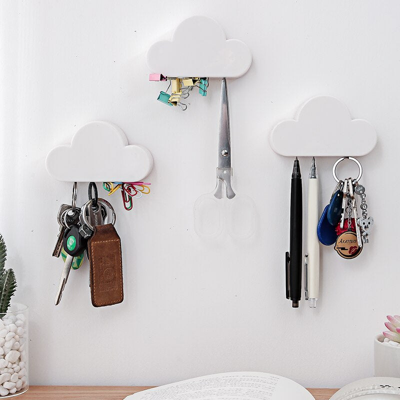 Cloud Shape Magnet Key Hooks - Feedfend - fistcase