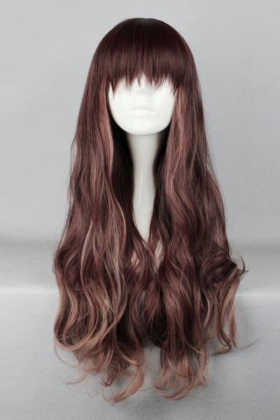 75cm Multi-Color Beautiful Colorful Candy Wig