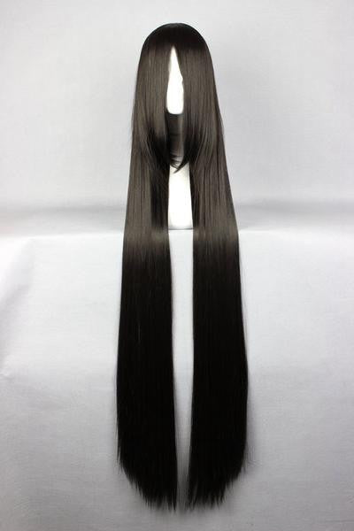 Straight Synthetic Long Black Wig