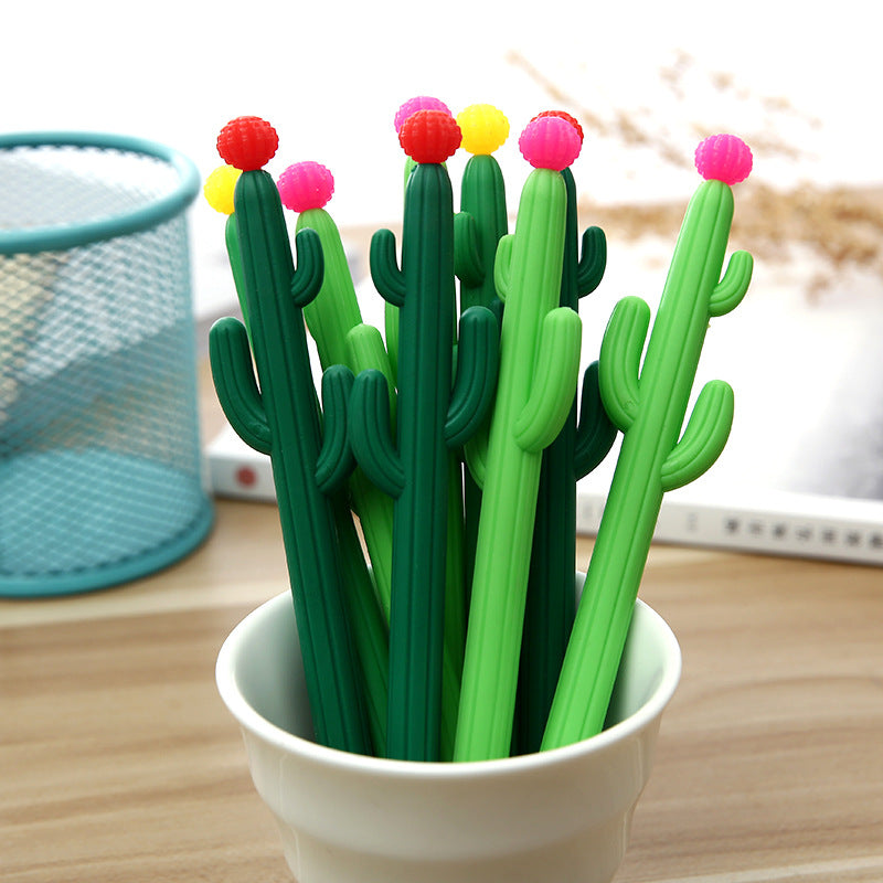 Cactus Gel Pen - Feedfend - fistcase