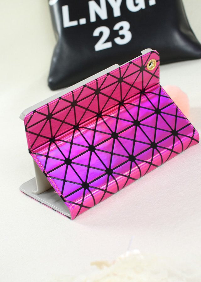 Laser Diamond Lattice iPad Case - Feedfend - fistcase