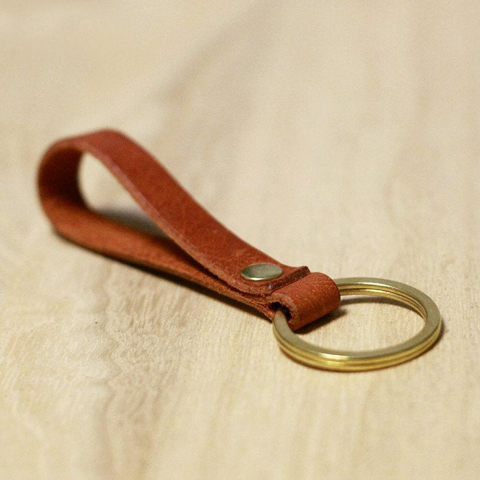 Handcrafted Leather Keychain - Feedfend - fistcase