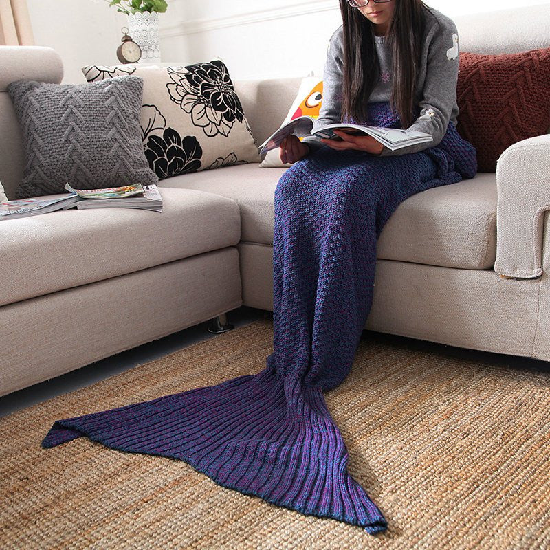 Mermaid Sofa Blanket - Feedfend - fistcase