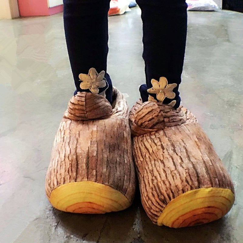 Wood Stump Slippers - Feedfend - fistcase