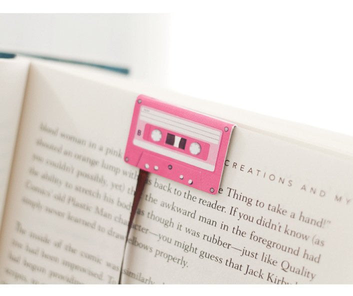 Cassette Bookmarks - Feedfend - fistcase