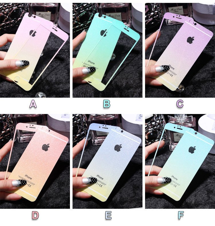 9H iPhone Color Changing Sticker Set - Feedfend - fistcase