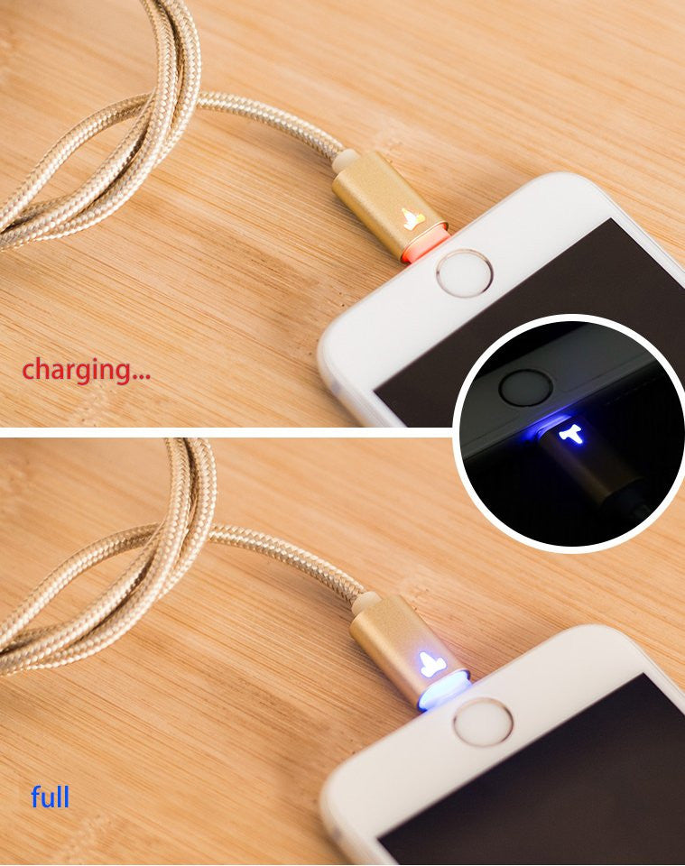 LED Indicator Lightning Cable - Feedfend - fistcase