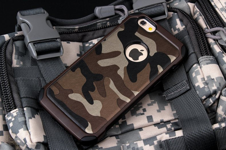 Camouflage Protective iPhone Case - Feedfend