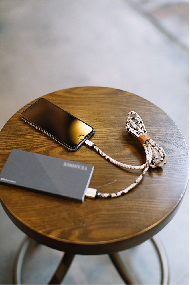 Python Skin Lightning Cable - Feedfend - fistcase